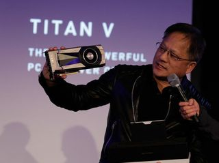 NVIDIA CEO Brings Orchestra, AI-Generated Star Wars Music — and First TITAN V GPUs — to Top AI Brainiacs