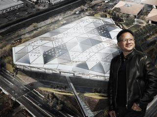 NVIDIA Corporate Headquarters and CEO Jensen Huang