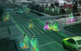 NVIDIA Metropolis Intelligent Video Analytics Graphic