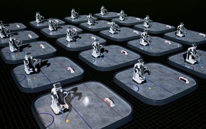 Isaac Robot Simulator