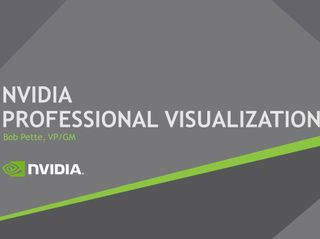 GTC 2017 Professional Visualization