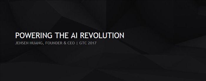 GTC 2017 Keynote