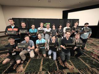 NVIDIA AI Labs with Tesla V100s