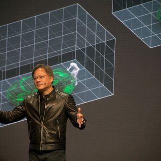 NVIDIA CEO Revs Up Auto Industry with New Autonomous Car Computer and VR Design Tool
