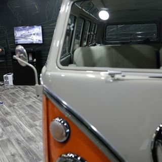 Magic Bus: NVIDIA Holodeck Brings Iconic VW Microbuses of the Past — and Future — to the Floor of CES