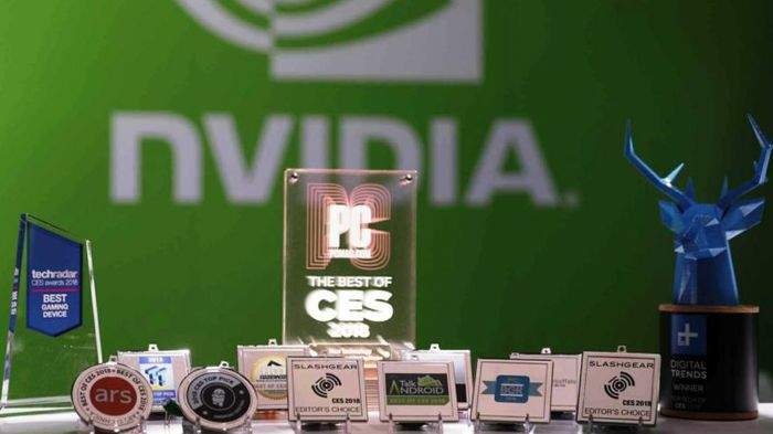 CES 2018: NVIDIA Racks Up Awards in Gaming, Automotive