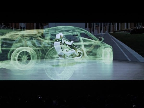 Man Teleports into Miniature Vehicle in Stunning On-Stage Demo at GTC Taiwan
