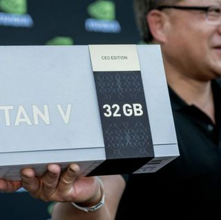 Shock and Awe in Utah: NVIDIA CEO Springs Special Titan V GPUs on Elite AI Researchers