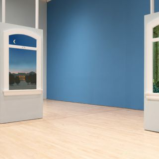 Augmented Reality Lets You Slip Inside Magritte's Surreal Scenes at SFMOMA