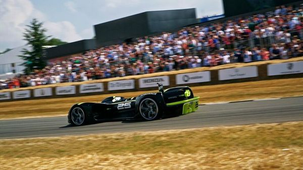 Robocar Climbs to New Heights at Goodwood Festival of Speed