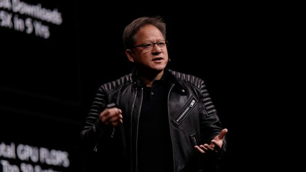 NVIDIA's Jensen Huang Takes Center Stage at SIGGRAPH 2018