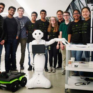 NVIDIA's High School Robotics Interns Dive into Deep Learning