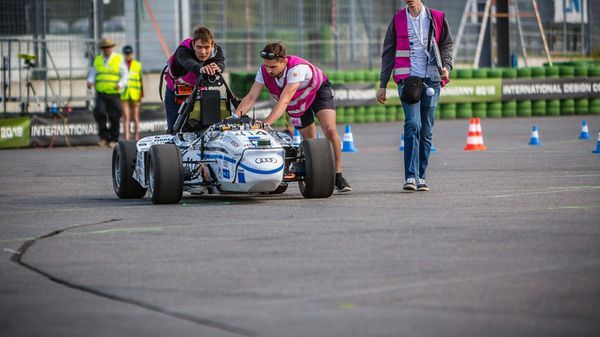 Driverless Ed: Students Advance Self-Driving Research at 'Formula Student Germany' Competition