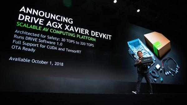 Introducing NVIDIA DRIVE AGX DevKit: Open, Scalable Platform for Autonomous Driving