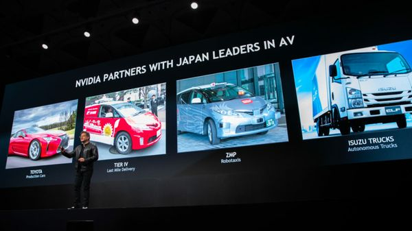 Japan Shifts Autonomous Driving Industry into High Gear with NVIDIA DRIVE