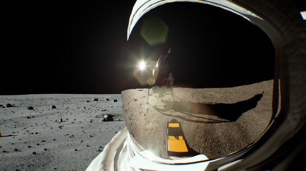 By the Light of the Moon: Turing Recreates Scene of Iconic Lunar Landing