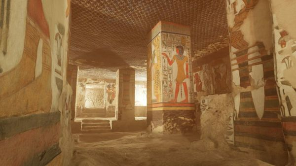 How You Can Explore Nefertari's Tomb in Hyper-Realistic VR