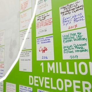 SC18: World's Best-Educated Graffiti Wall Celebrates GPU Developer Community