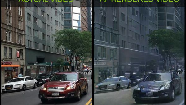 NVIDIA AI research side by side comparison