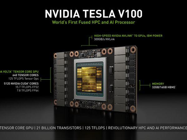 NVIDIA Tesla V100 (with specs)