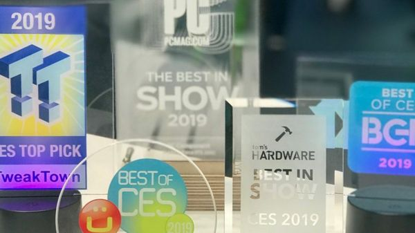 Viva Las Vegas! We're Leaving CES 2019 Laden with Awards