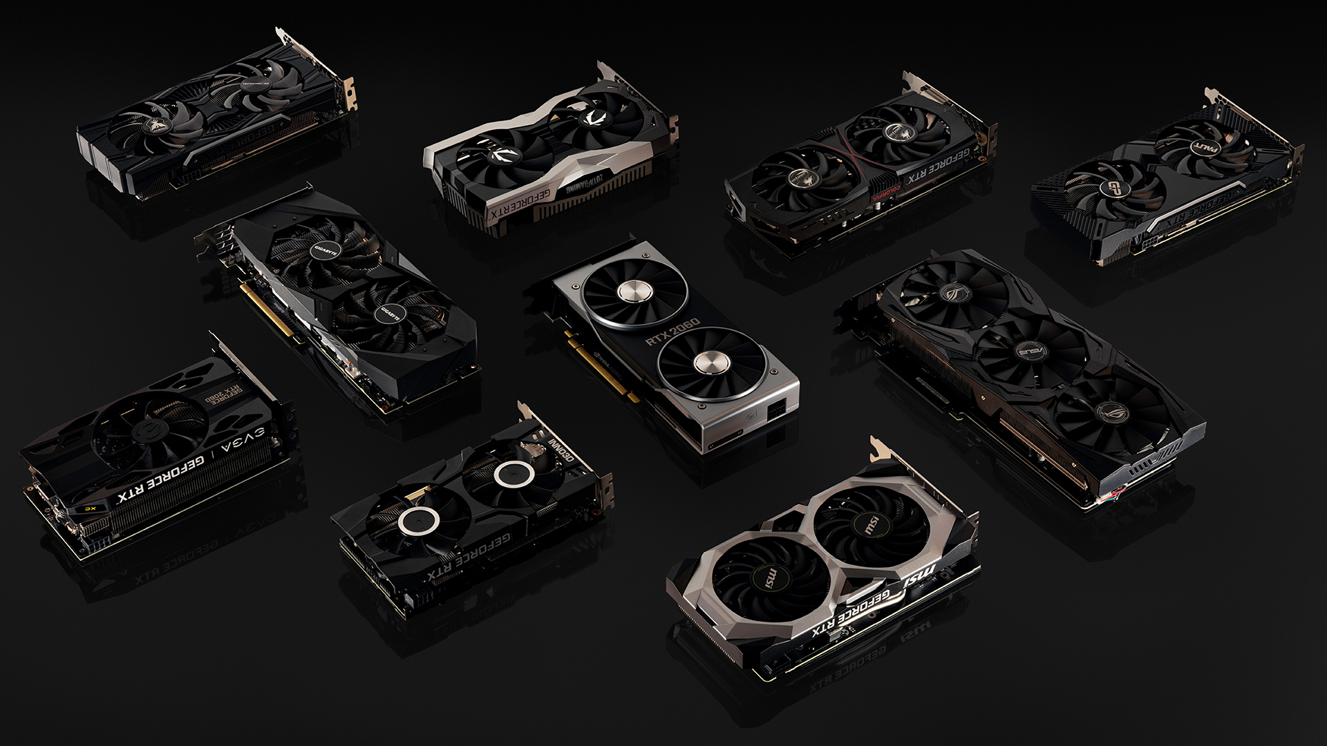 GeForce RTX 2060 AIC cards