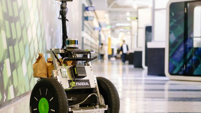 Pop Star: At NVIDIA, Popcorn Delivery Robot Bears Kernel of Innovation