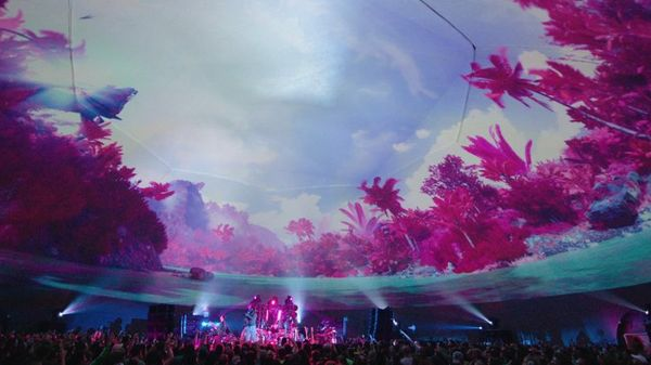 Under the Dome: Childish Gambino's Pharos Festival Dazzles with Interactive Visuals