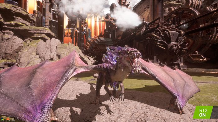 Dragonhound--The First Unreal Engine Game to Feature DXR Support