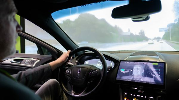 Riding Shotgun in Cockpit of the Future, at GTC 2019