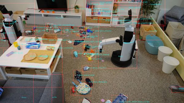 Home Helper: Startup's Robot Can Tidy Up a Messy House