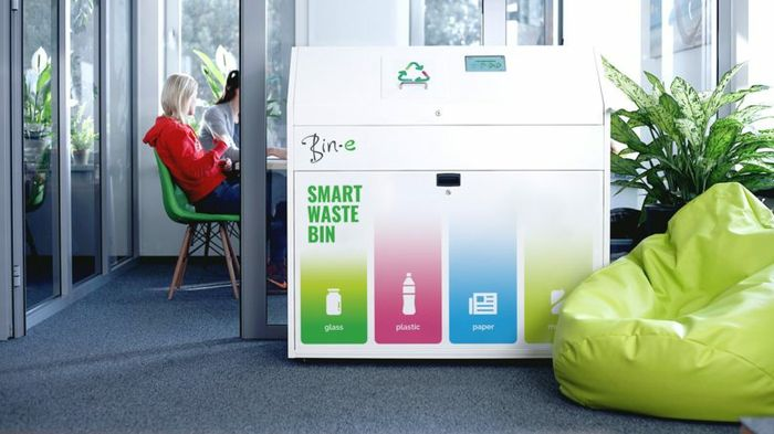 A Can With Plan Smart Recycling Bin Makes It Easy To Be Green