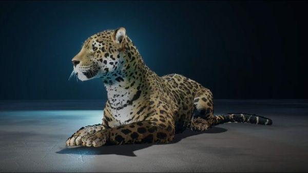 Moves Like Jaguar: Carmaker's Logo Springs to Life at LA, Paris, Shanghai Auto Shows