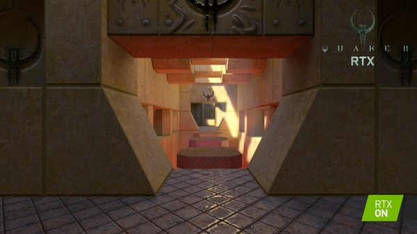 Quake II RTX screenshot