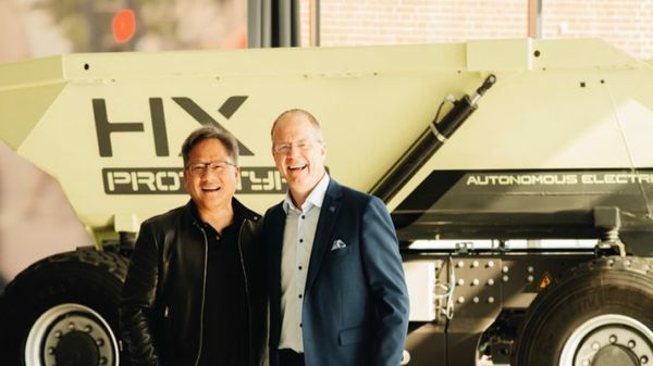 Volvo Group Selects NVIDIA to Transform Trucking