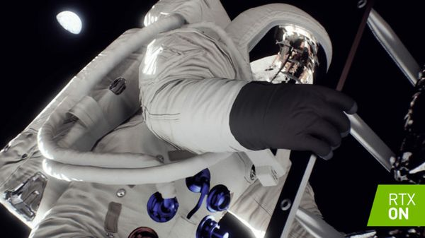 Moonlighting: RTX Real-Time Ray Tracing Snaps Apollo 11 Landing Into Focus