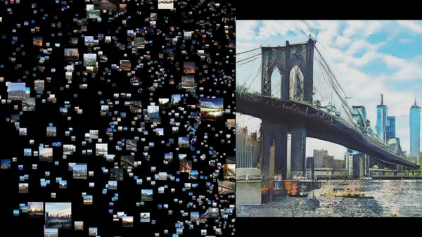 Artist's NVIDIA-Powered AI Images of New York City Blanket Manhattan Landmark