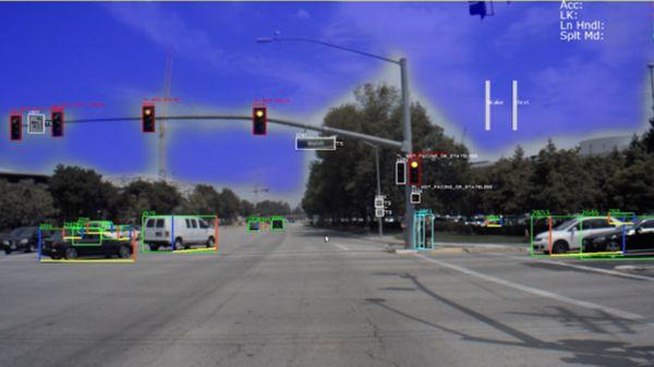 DRIVE AV test ride screenshot
