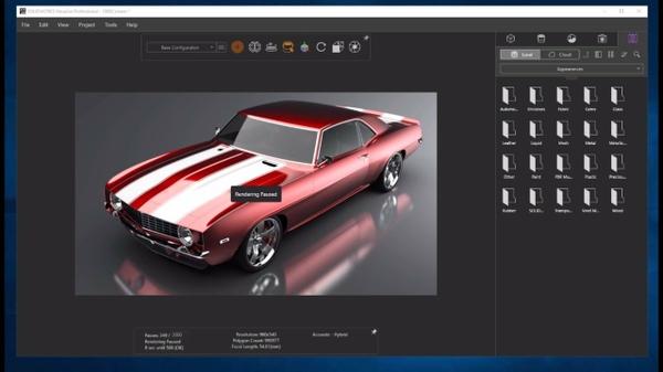 NVIDIA Quadro vDWS Demo on Solidworks