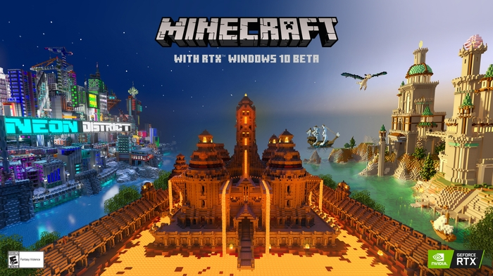 Minecraft with RTX Windows Beta Launch Brings Stunning Ray-Traced Visuals to Millions of Gamers