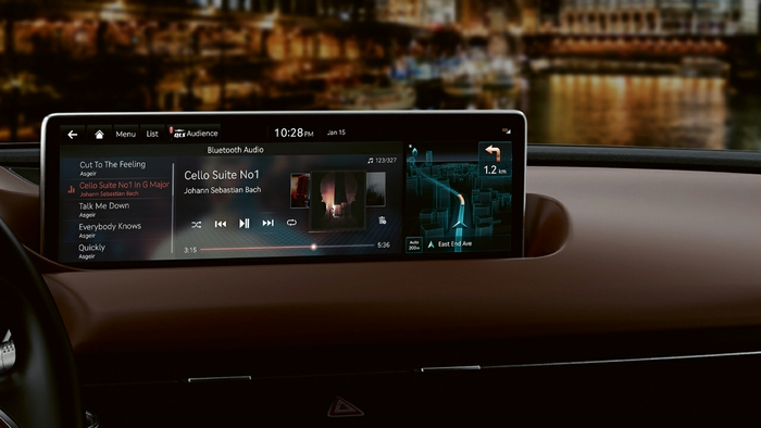 Hyundai Motor Group In-Vehicle Infotainment System