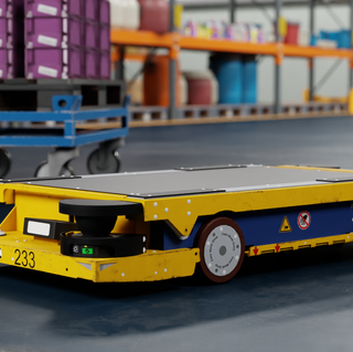 BMW Group STR Dolly in Isaac-Sim