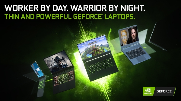 GEFORCE GAMING LAPTOPS