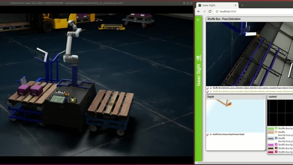 NVIDIA Isaac Platform Working in Sync in BMW Factory