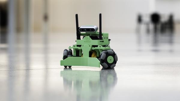 NVIDIA Kaya Robot with Jetson