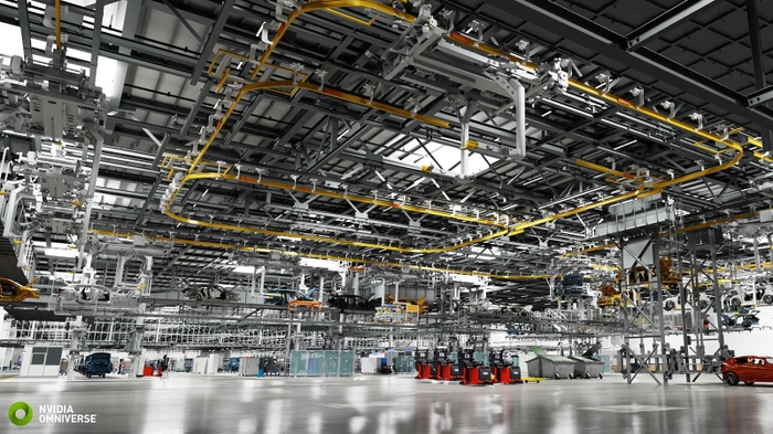 Digital Twin of BMW Group Factory Created in NVIDIA Omniverse