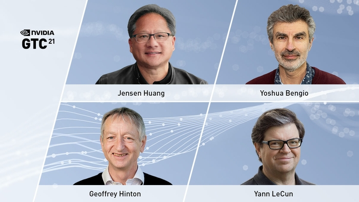 NVIDIA CEO Jensen Huang to Host AI Pioneers Yoshua Bengio, Geoffrey Hinton and Yann LeCun, and Others, at GTC21
