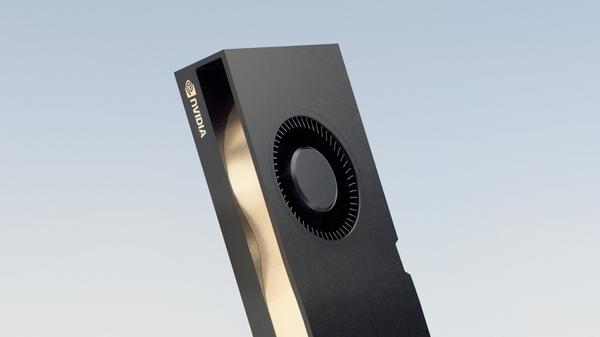 NVIDIA RTX A5000 Close-Up
