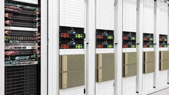 NVIDIA Cambridge-1 Supercomputer Cabinets