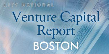 Venture Capital Report - Boston - Q2 2013